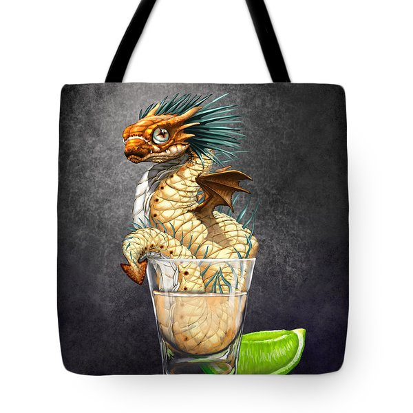Tequila Wyrm Tote Bag by Stanley Morrison