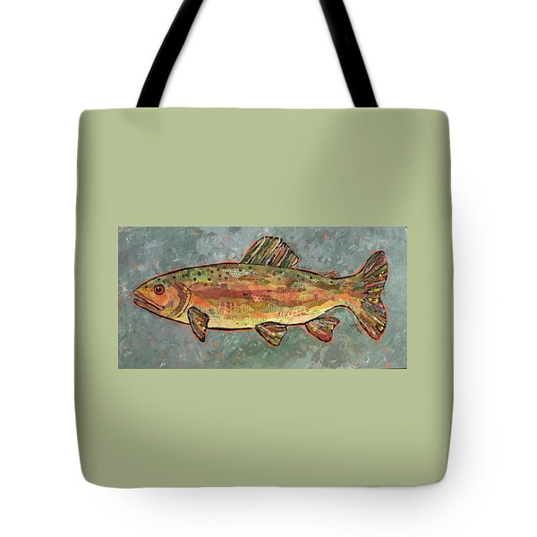 Teresa The Trout Tote Bag