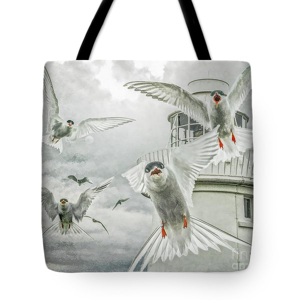 Tern Attack Tote Bag by Brian Tarr