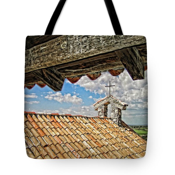 Terra Cotta Church Tote Bag