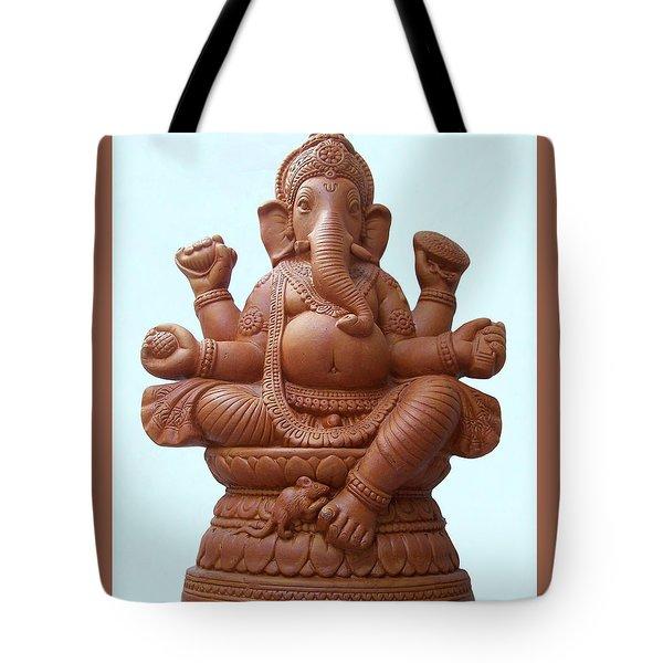 Terra - Cotta Ganapati Tote Bag