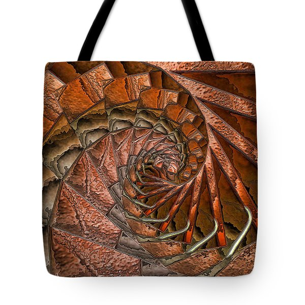 Terra Cotta Tote Bag by Ron Bissett