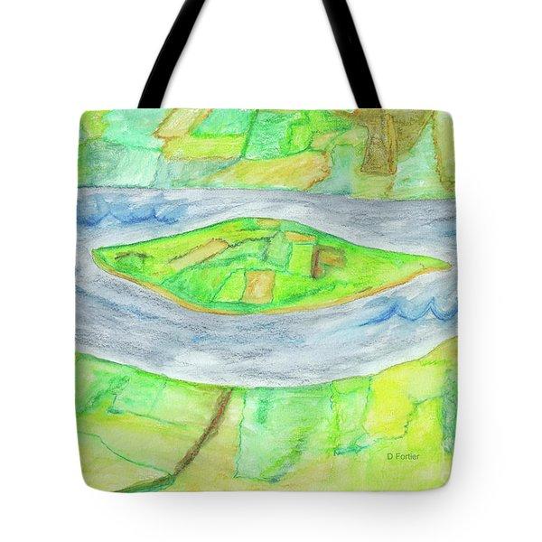 Terra Incognita Tote Bag by Dominique Fortier
