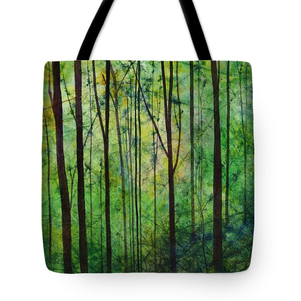 Tote Bag featuring the painting Terra Verde by Hailey E Herrera