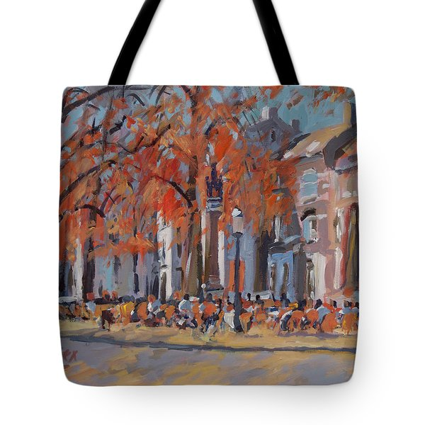 Terrace In The Grand Tanners Street Maastricht Tote Bag