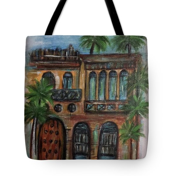 Terrace Tote Bag