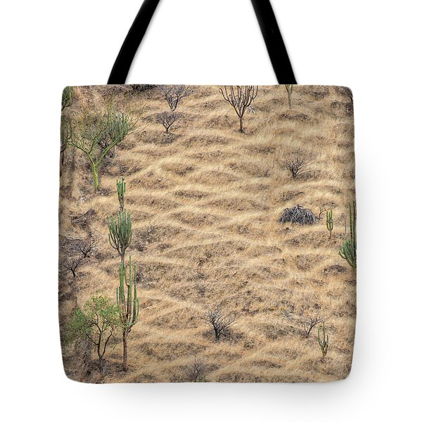 Tote Bag featuring the photograph Terraced Slope by Britt Runyon
