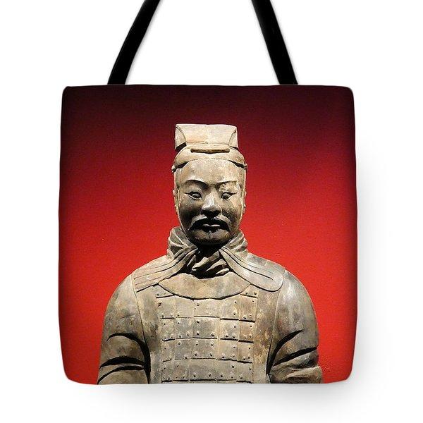 Terracotta Warrior Army Of Qin Shi Huang Di I Tote Bag