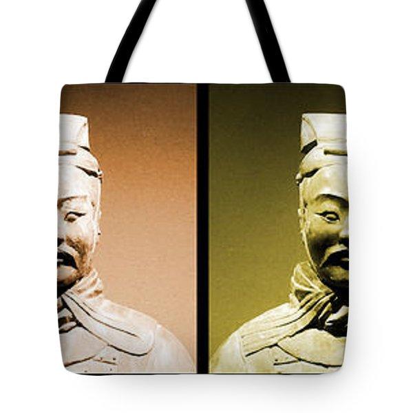 Terracotta Warrior Army Of Qin Shi Huang Di - Royg Tote Bag