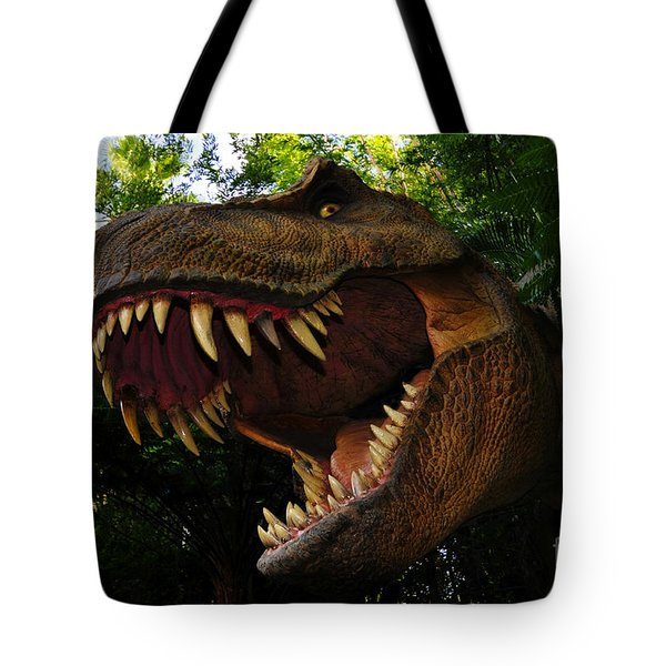 Terrible Lizard Tote Bag by David Lee Thompson