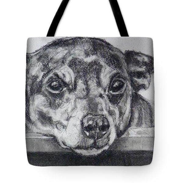 Terrier Attitude Tote Bag