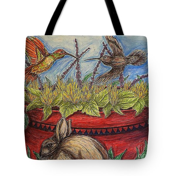 Territorial Rights Tote Bag