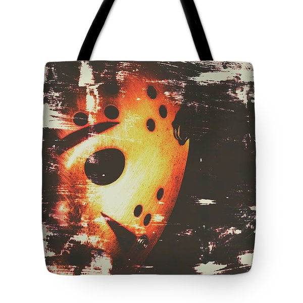 Terror On The Ice Tote Bag
