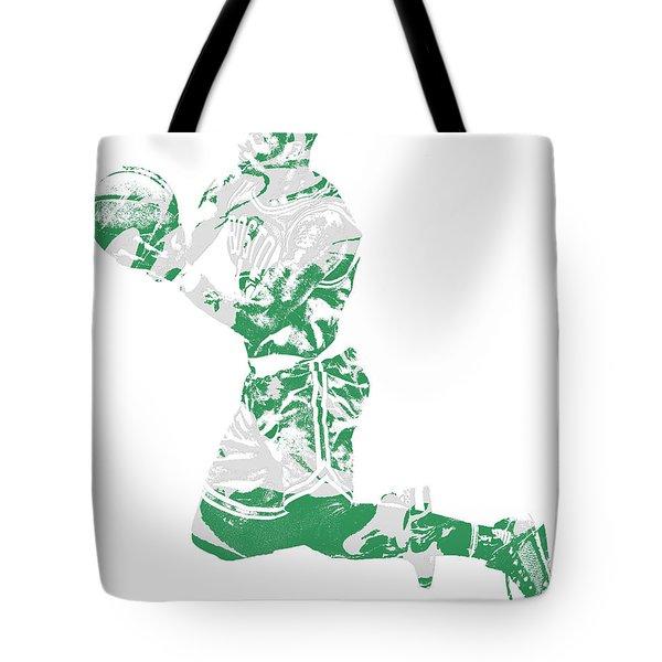 Terry Rozier Boston Celtics Pixel Art 12 Tote Bag
