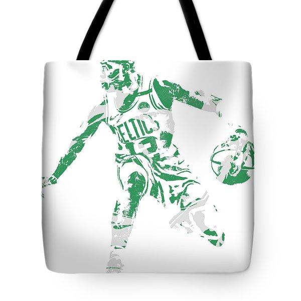 Terry Rozier Boston Celtics Pixel Art 13 Tote Bag