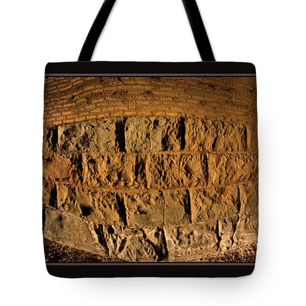 Terry Tunnel Triptych Tote Bag by Leland D Howard