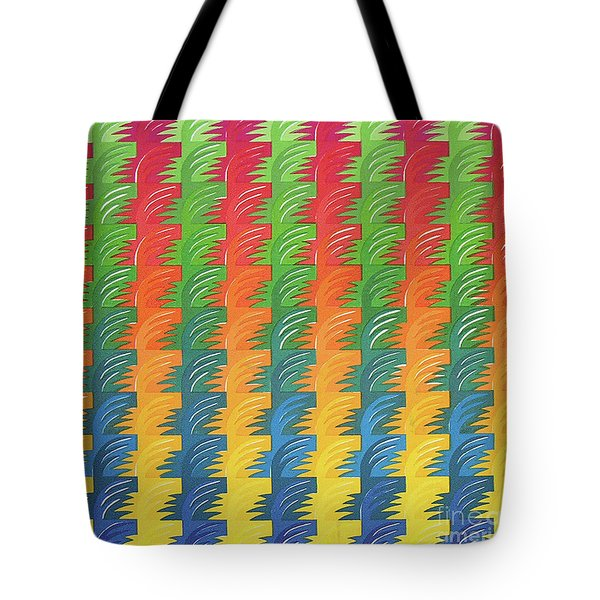 Tessellation Tote Bag by Jacqueline Phillips-Weatherly