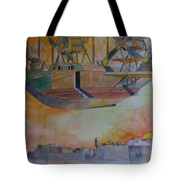 Test Flight Tote Bag by Ray Agius