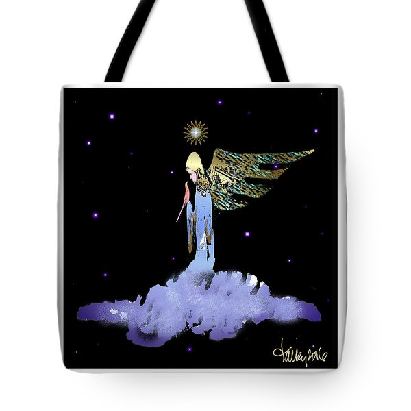 Heavenly Visit Tote Bag