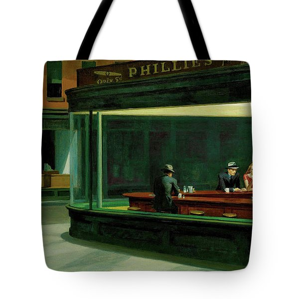 Test Tavern Tote Bag by Edward Hopper