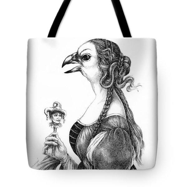 Tete-a-tete With Botticelli Tote Bag