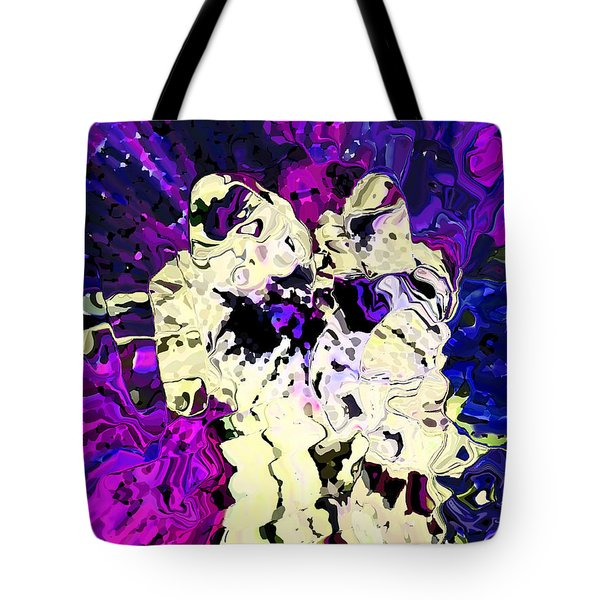 Tethered In Space Tote Bag