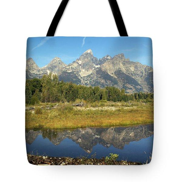 Teton 5 Tote Bag by Marty Koch