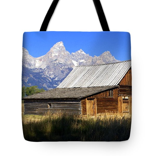 Teton Barn 5 Tote Bag by Marty Koch