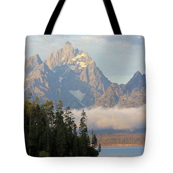 Teton Early Morning Tote Bag
