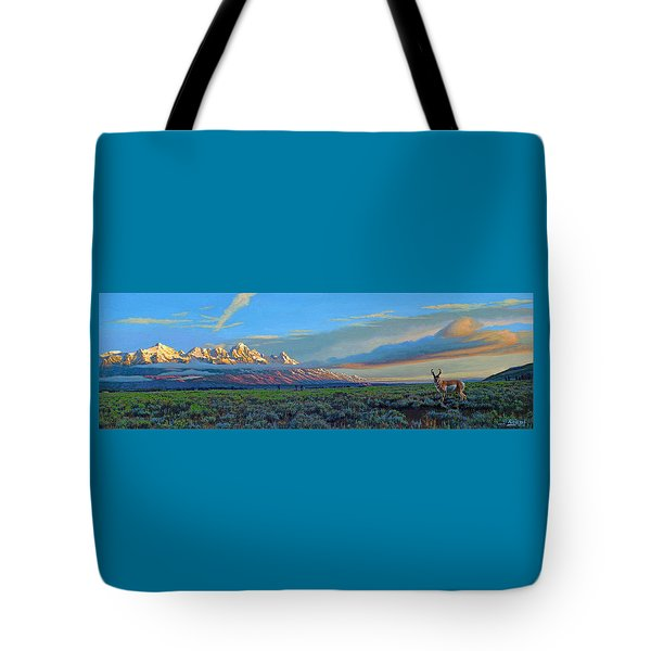Teton Morning Tote Bag