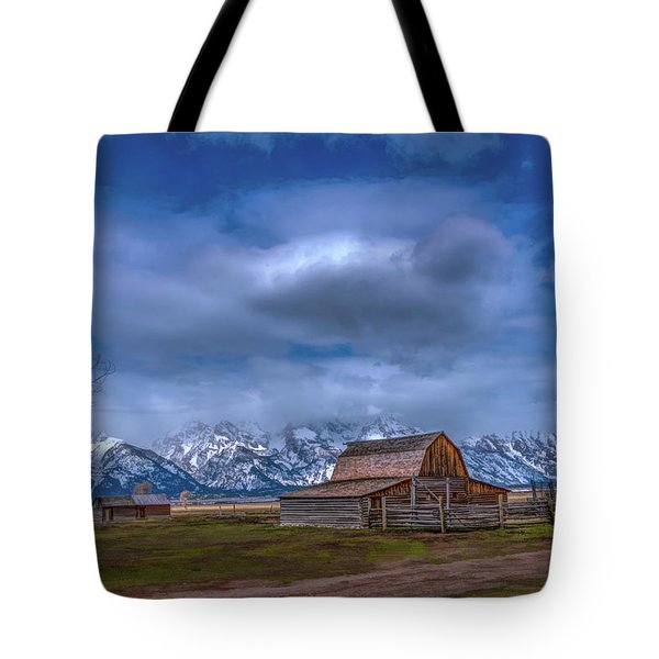 Teton National Park Mormon Row Tote Bag