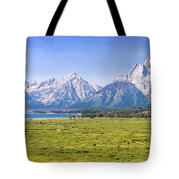 Teton Panorama Tote Bag