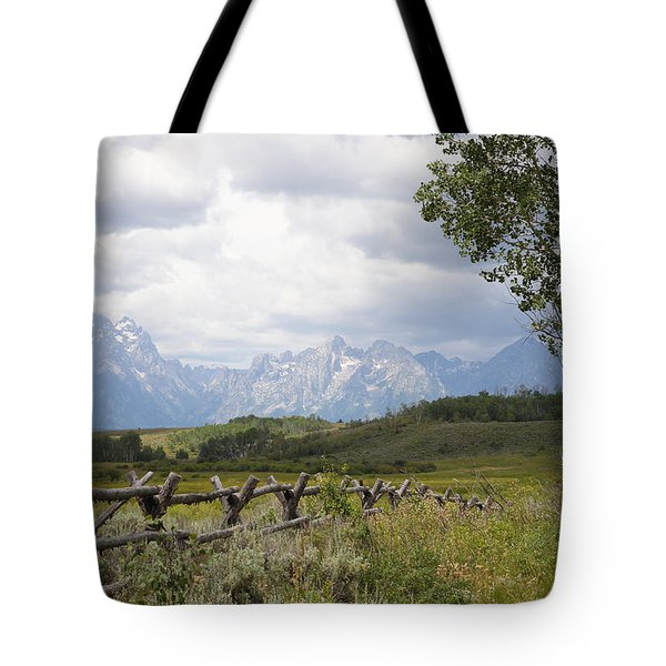 Teton Ranch Tote Bag by Diane Bohna