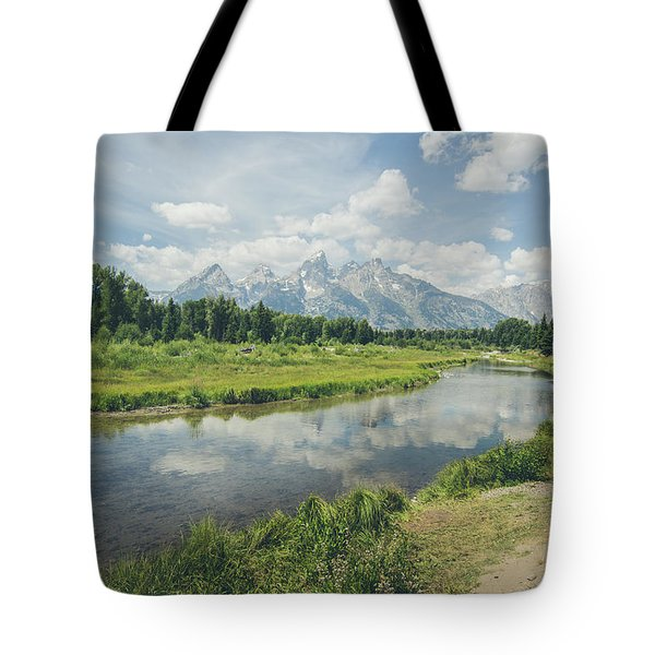 Teton Reflections Tote Bag
