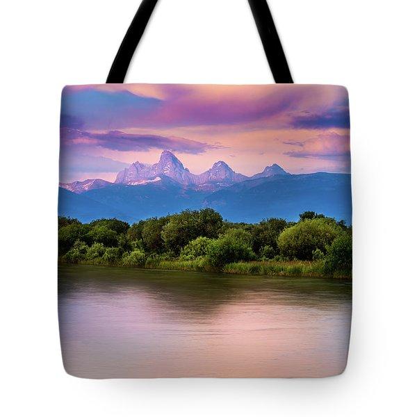 Teton Valley Paradise  Tote Bag