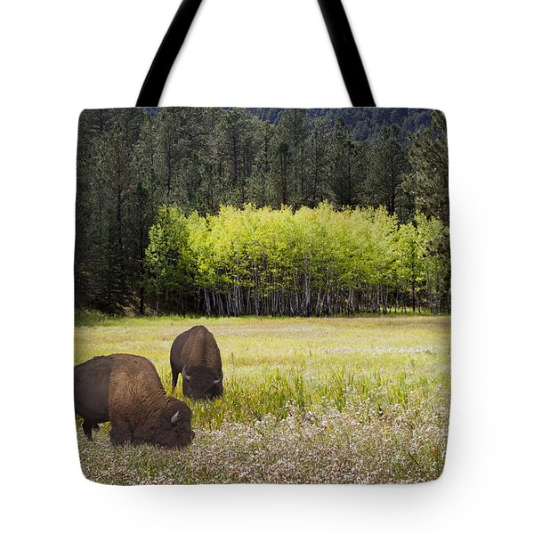 Tote Bag featuring the photograph Tetonka by John Hix