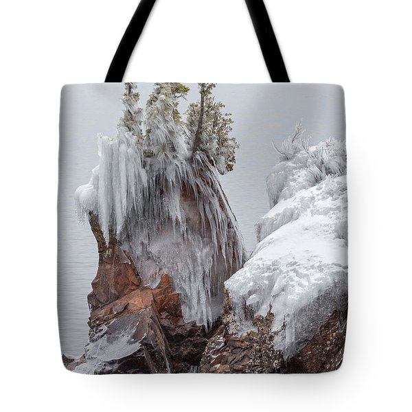 Tote Bag featuring the photograph Tettegouche by Mary Amerman