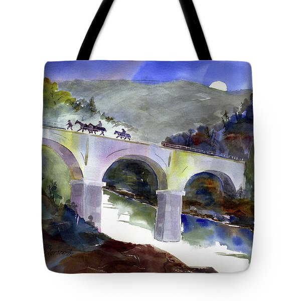 Tevis Crossing 3am Tote Bag