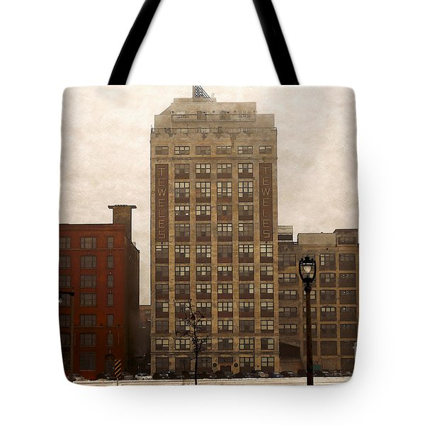 Tote Bag featuring the digital art Teweles Teweles by David Blank