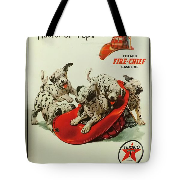 Tote Bag featuring the photograph Texaco Antique Sign by Chris Flees