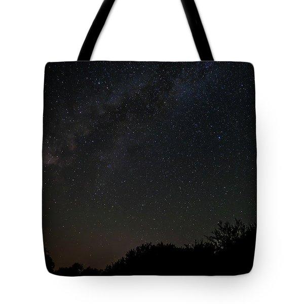 Texas At Night Tote Bag