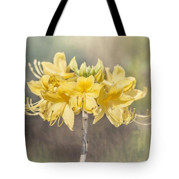 Texas Azalea -textured Tote Bag