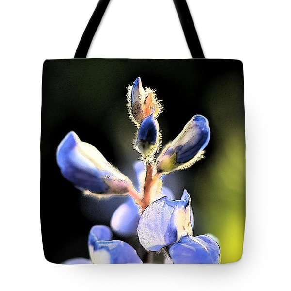Texas Blue Bonnet Impressions 1 Tote Bag