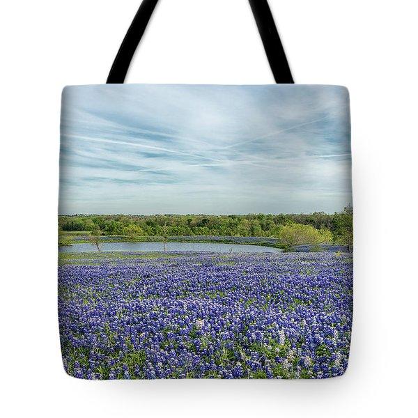 Texas Bluebonnets 13 Tote Bag