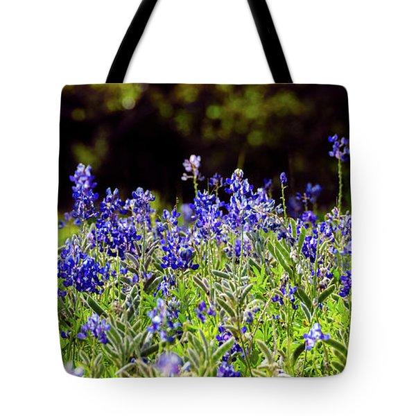 Texas Bluebonnets IIi Tote Bag
