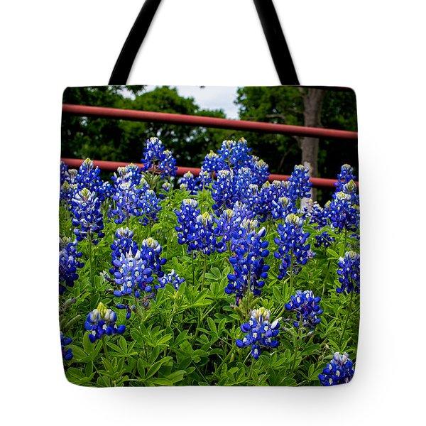 Texas Bluebonnets In Ennis Tote Bag