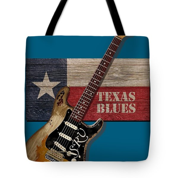 Texas Blues Shirt Tote Bag