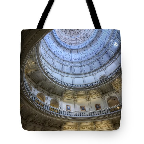 Texas Capitol Dome Interior Tote Bag