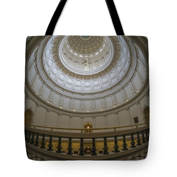 Texas Capitol Dome Wide Angle Tote Bag