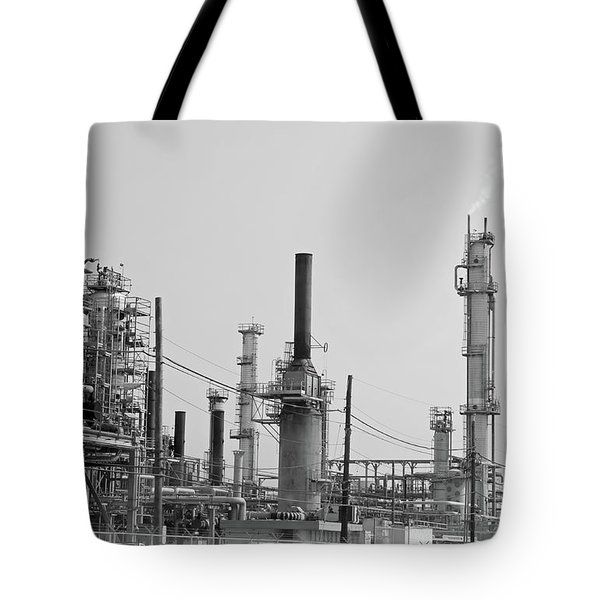 Texas City Refinery Tote Bag